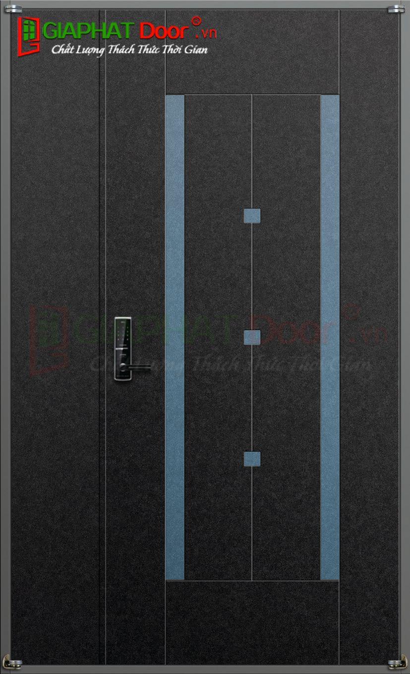 CỬA THÉP HÀN QUỐC B-639-RB (DOUBLE)