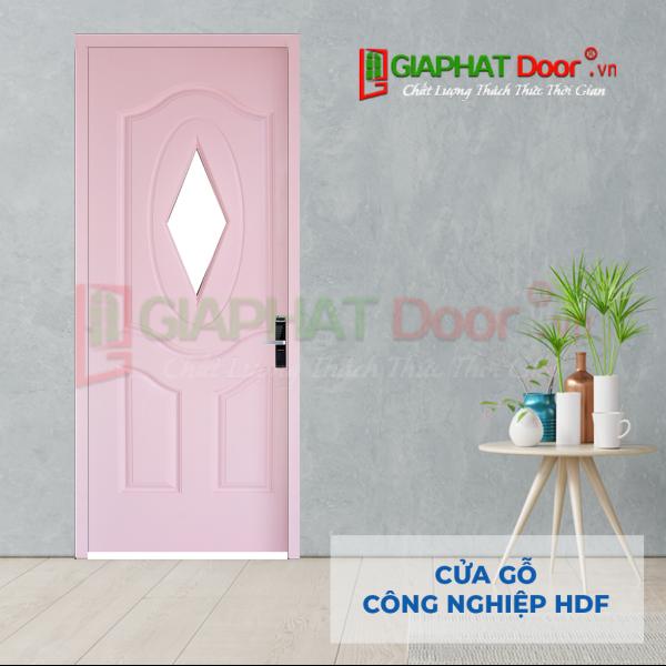 Cửa Gỗ Công Nghiệp HDF 3GL-C4 (2)