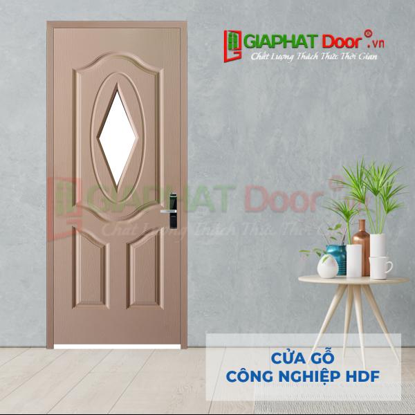 Cửa Gỗ Công Nghiệp HDF 3GL-C4 (3)