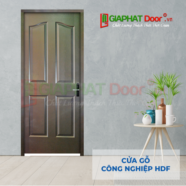 Cửa Gỗ Công Nghiệp HDF 4A-C14 (3)