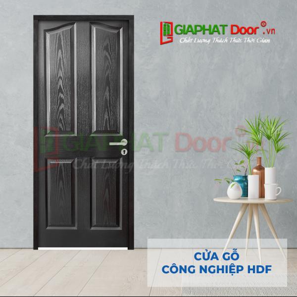 Cửa Gỗ Công Nghiệp HDF 4A-C14 canh