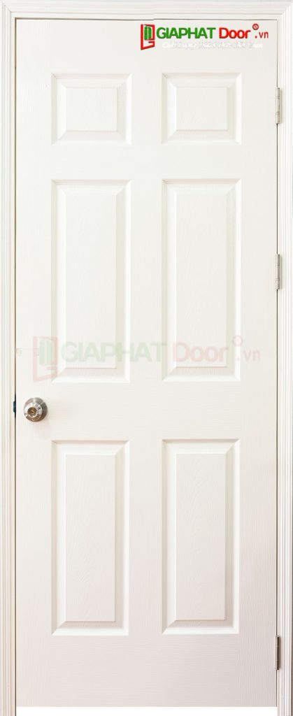 Cửa Gỗ Giá Rẻ HDF 6A-C1 (1)