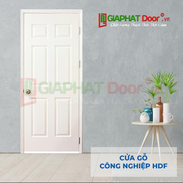 Cửa Gỗ Công Nghiệp HDF 6A-C1 (1)