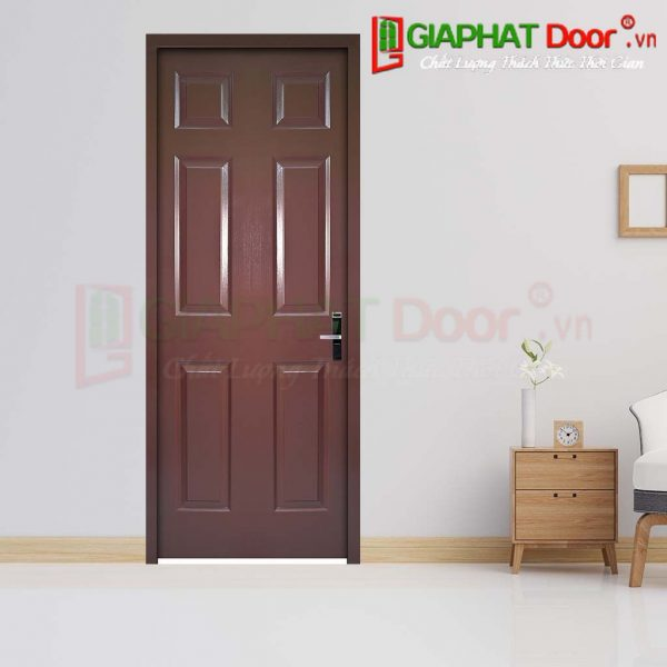 Cửa Gỗ Giá Rẻ HDF 6A-C11