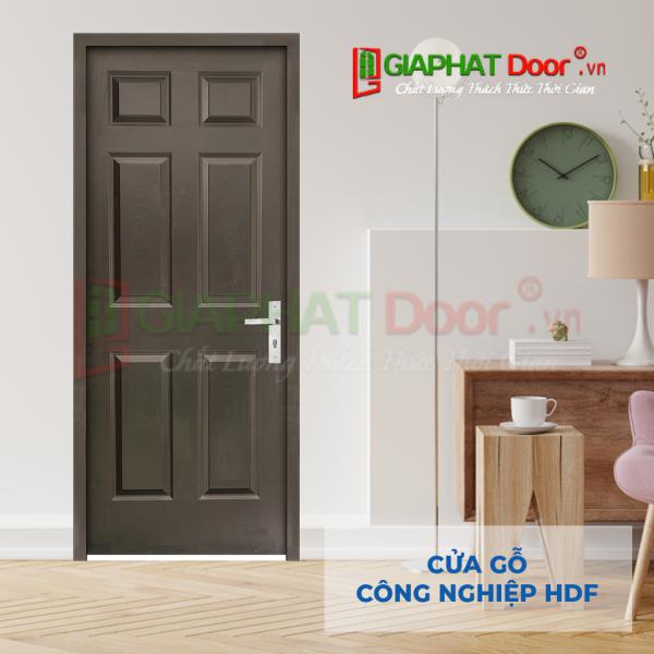 Cửa Gỗ Công Nghiệp HDF 6A-C14