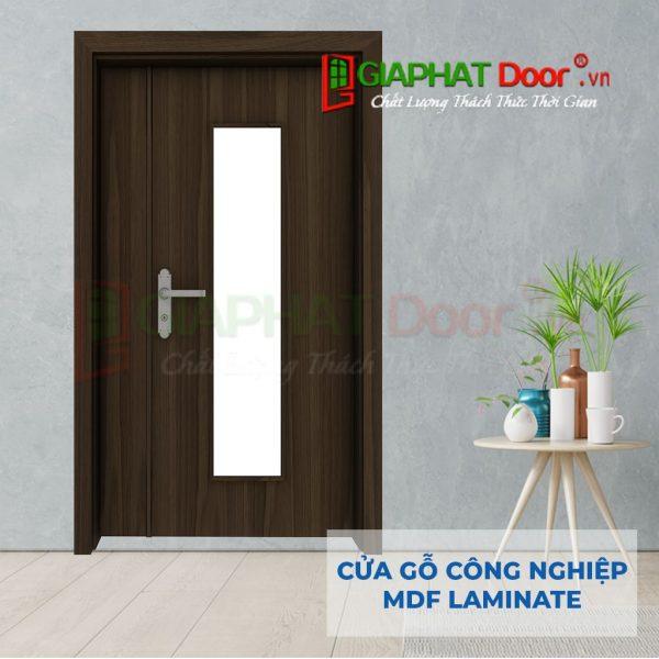 Cửa gỗ công nghiệp MDF Laminate 2P1G1s