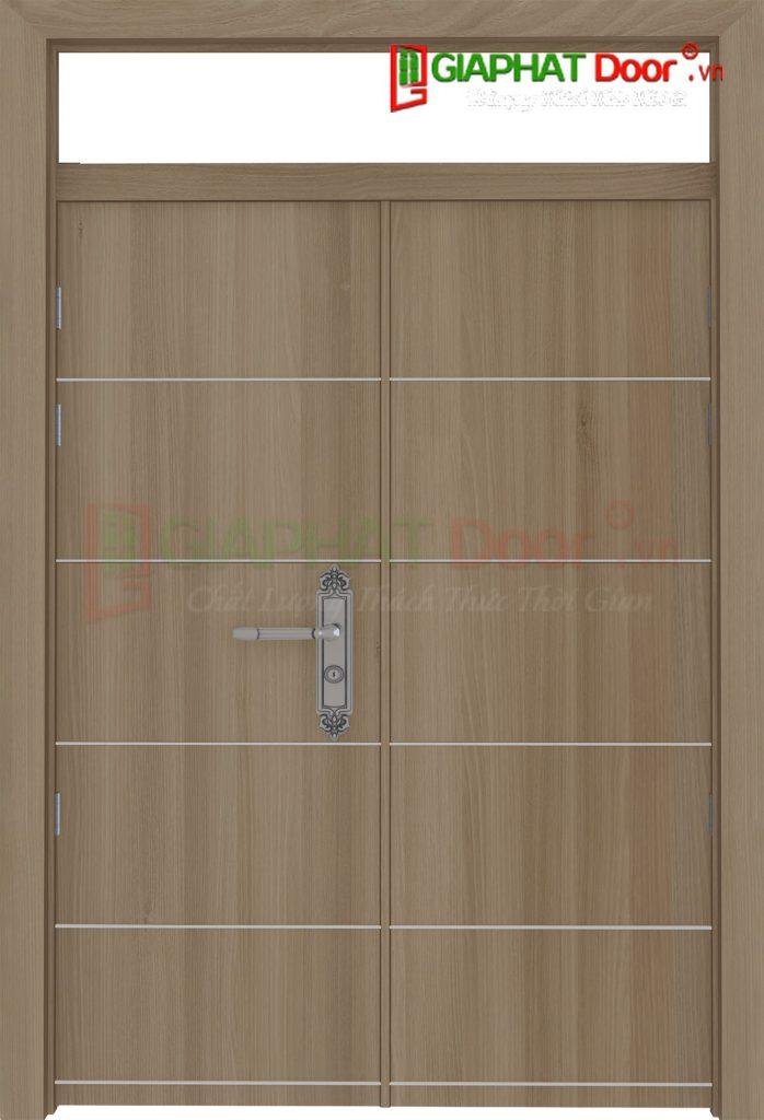 Cửa gỗ công nghiệp MDF Laminate 2P1R10 FIX