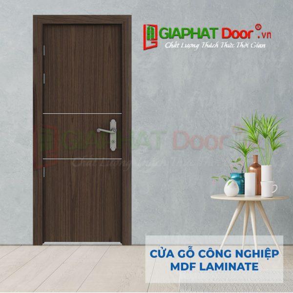Cửa gỗ công nghiệp MDF Laminate P1R2b