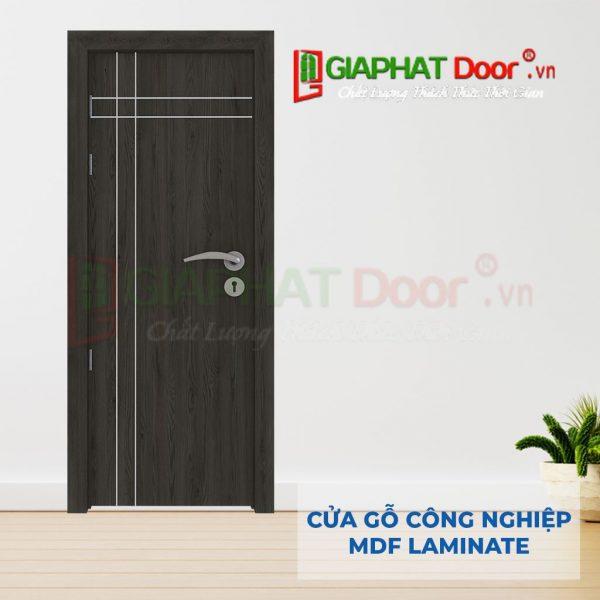 Cửa gỗ công nghiệp MDF Laminate P1R4