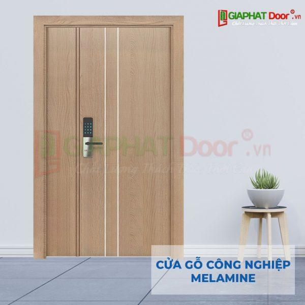 Cửa gỗ công nghiệp MDF Melamine 2P11