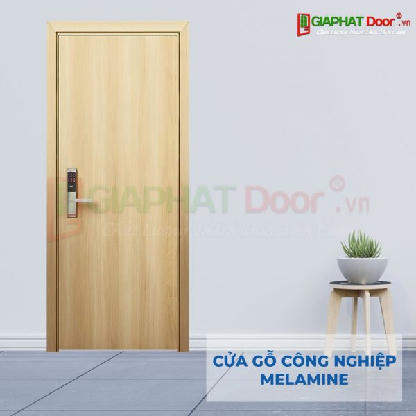 Cửa gỗ công nghiệp MDF Melamine P1-4