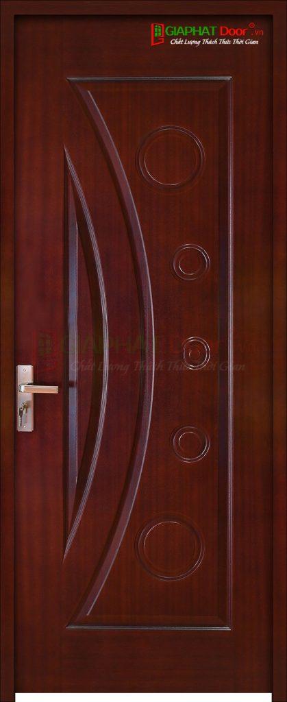 Cửa gỗ cao cấp HDF Veneer 1K-Cam xe