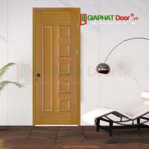 Cửa Gỗ Phòng Ngủ HDF Veneer 6B-sapele (3)