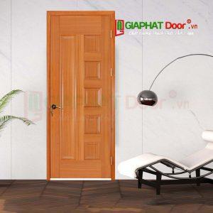 Cửa Gỗ Phòng Ngủ HDF Veneer 6B-sapele (4)