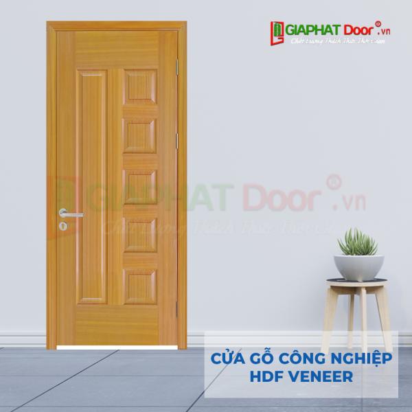 Cửa Gỗ Công Nghiệp HDF Veneer 6B-sapele (5)