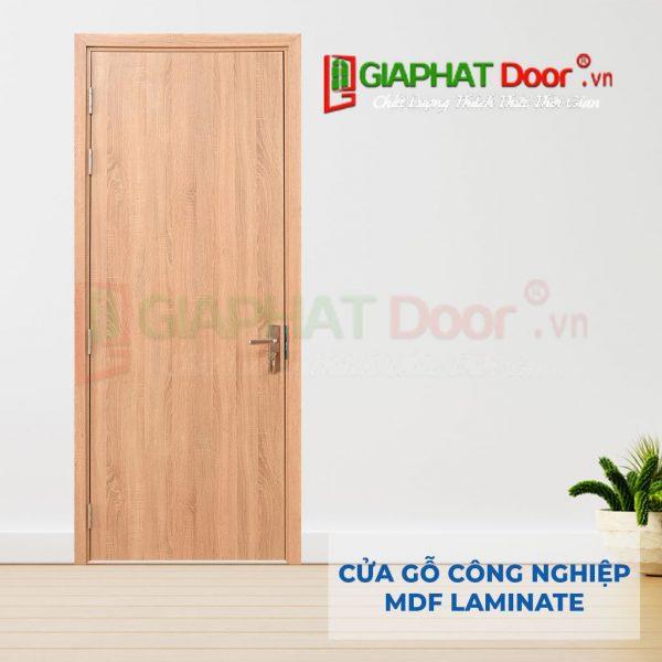 Cửa gỗ công nghiệp MDF Laminate P1