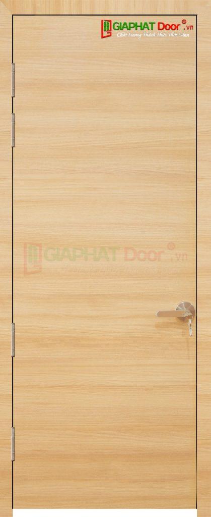 Cửa gỗ công nghiệp MDF Laminate P1 van ngang