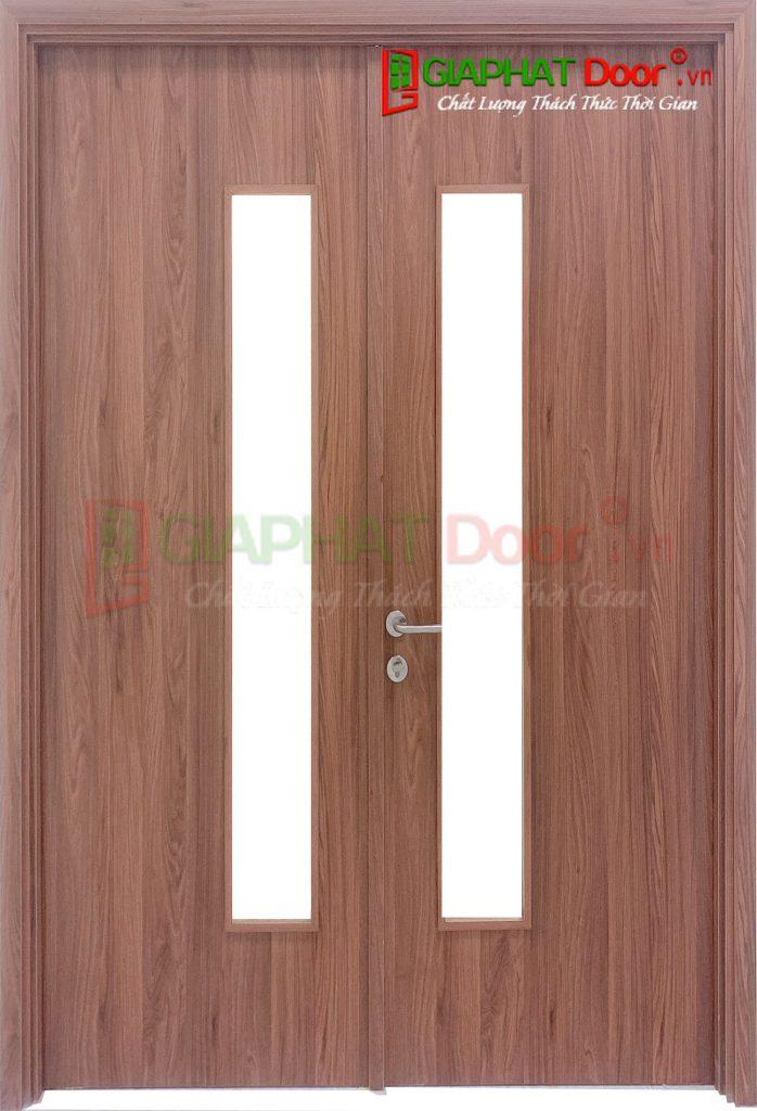 Cửa gỗ công nghiệp MDF Melamine 2P1G1