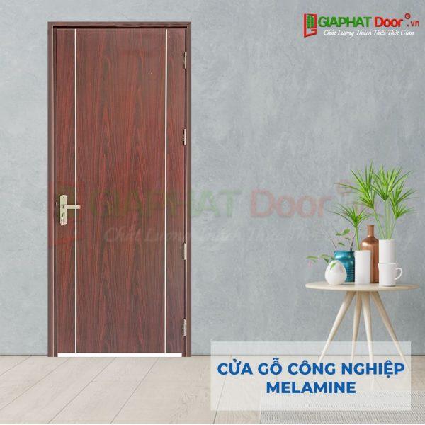 Cửa gỗ công nghiệp MDF Melamine P1R2