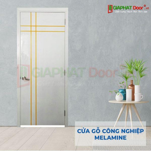 Cửa gỗ công nghiệp MDF Melamine P1R4