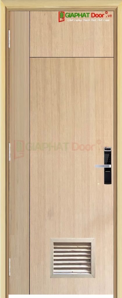 Cửa gỗ công nghiệp MDF Veneer P1R3L1