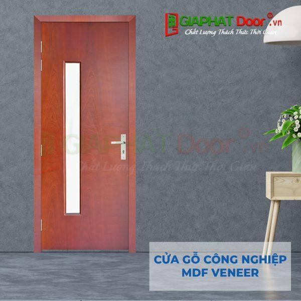 Cửa gỗ công nghiệp MDF Veneer P1G1