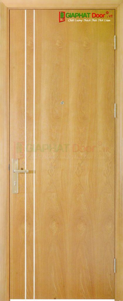 Cửa gỗ công nghiệp MDF Veneer P1R2 ash (2)