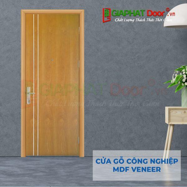 Cửa gỗ công nghiệp MDF Veneer P1R2 soi (2)