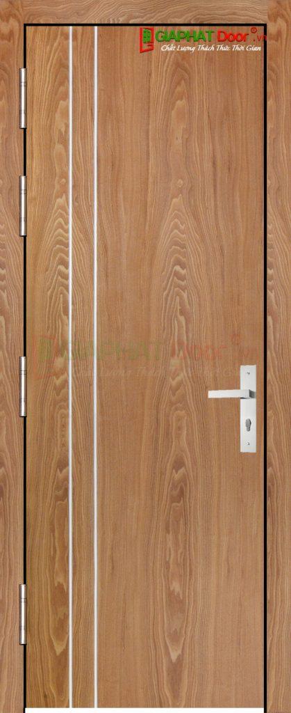 Cửa gỗ công nghiệp MDF Veneer P1R2 soi (3)