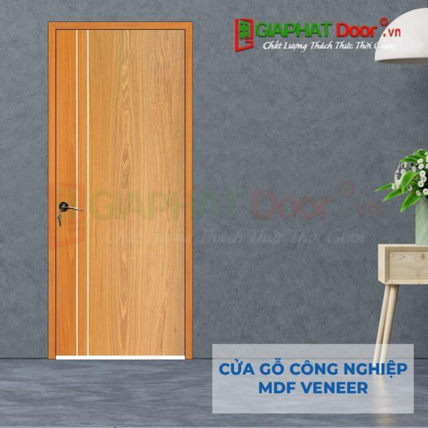 Cửa gỗ công nghiệp MDF Veneer P1R2 soi (4)