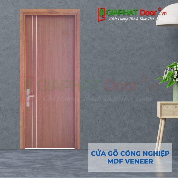 Cửa gỗ công nghiệp MDF Veneer P1R2 xoan dao (3)