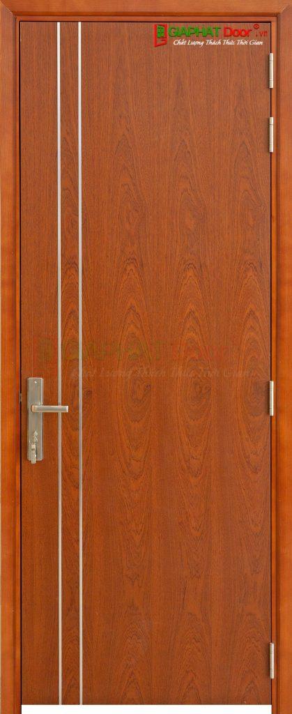 Cửa gỗ cao cấp MDF Veneer P1R2 xoan dao (4)