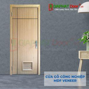Cửa gỗ công nghiệp MDF Veneer P1R2L1