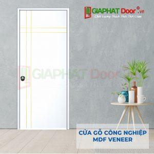 Cửa gỗ công nghiệp MDF Veneer P1R4a-C1