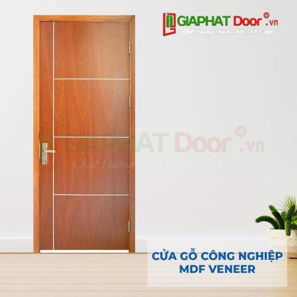 Cửa gỗ công nghiệp MDF Veneer P1R4b