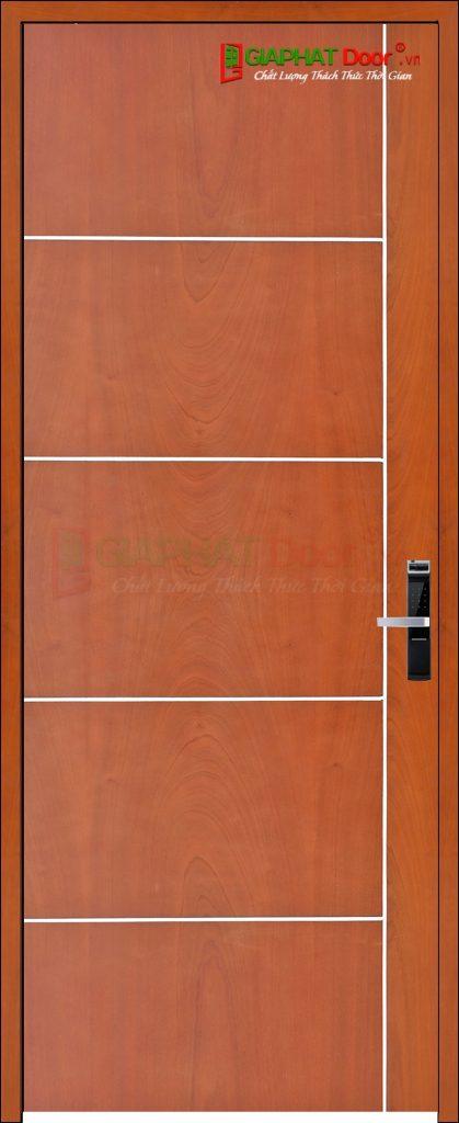 Cửa gỗ công nghiệp MDF Veneer P1R5 xoan dao (2)