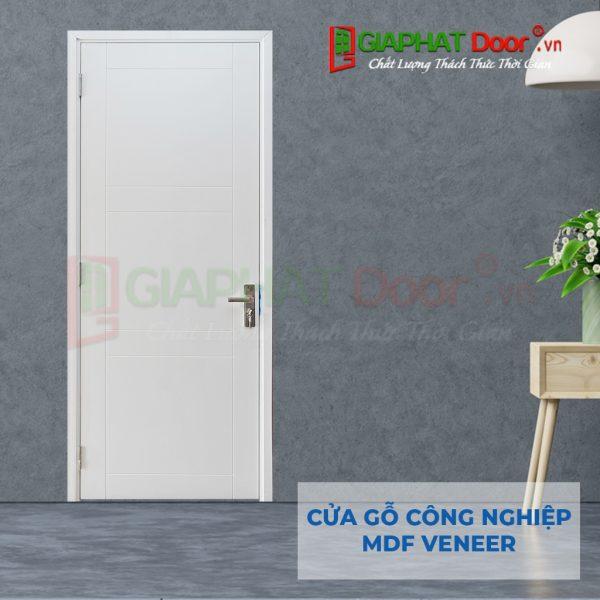 Cửa gỗ công nghiệp MDF Veneer P1R8-C1
