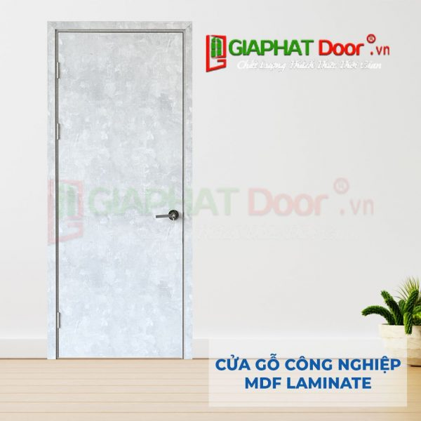 Cửa gỗ công nghiệp MDF Laminate P1 van da