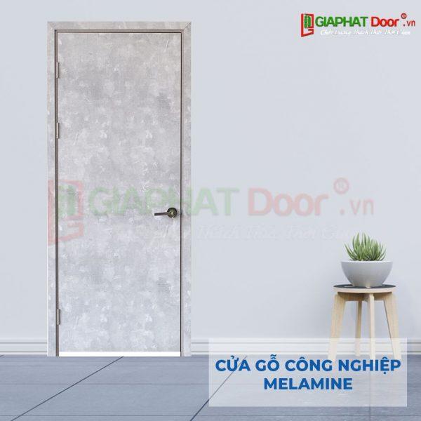 Cửa gỗ công nghiệp MDF Melamine P1 van da