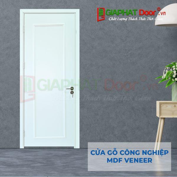 Cửa gỗ công nghiệp MDF Veneer 1PN