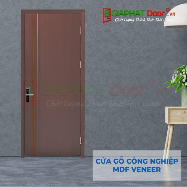 Cửa gỗ công nghiệp MDF Veneer P1-C13