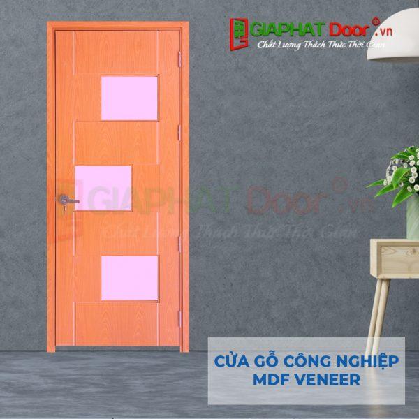 Cửa gỗ công nghiệp MDF Veneer P1G3-ash