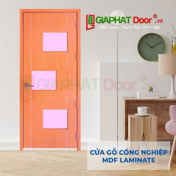Cửa gỗ công nghiệp MDF Laminate P1G3-ash