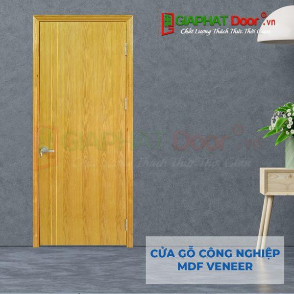 Cửa gỗ công nghiệp MDF Veneer P1R2 ash (3)