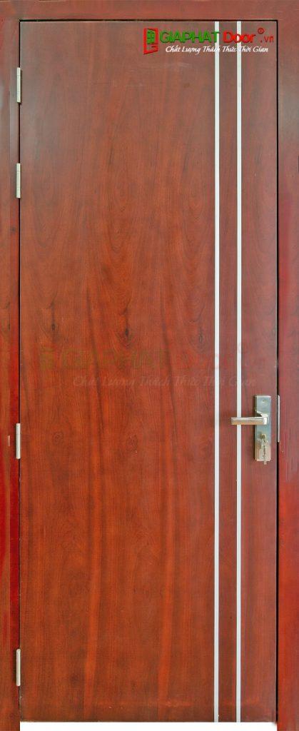 Cửa gỗ công nghiệp MDF Veneer P1R2 cam xe (3)