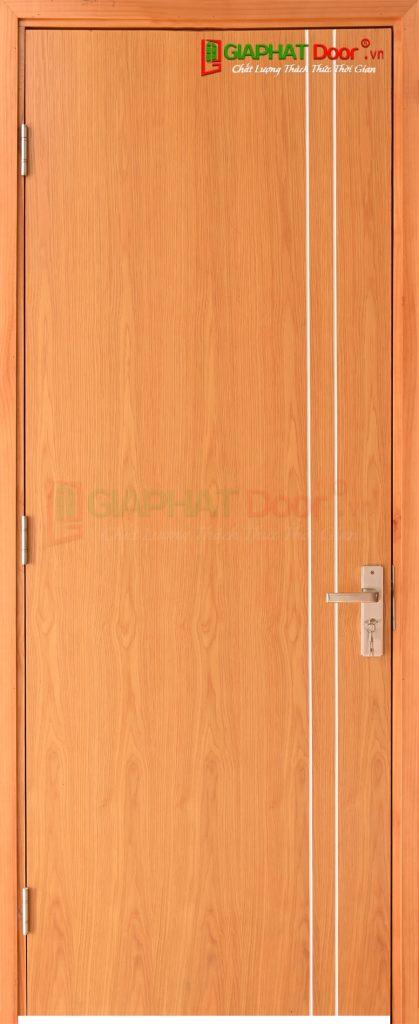 Cửa gỗ công nghiệp MDF Veneer P1R2- xoan. dao