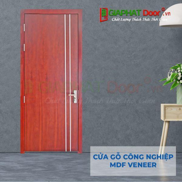 Cửa gỗ công nghiệp MDF Veneer P1R2 xoan dao (2)