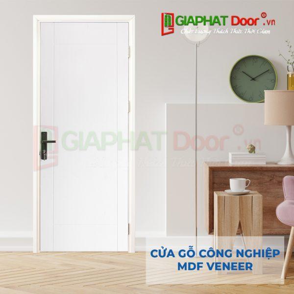 Cửa gỗ công nghiệp MDF Veneer P1R4-C1 (2)