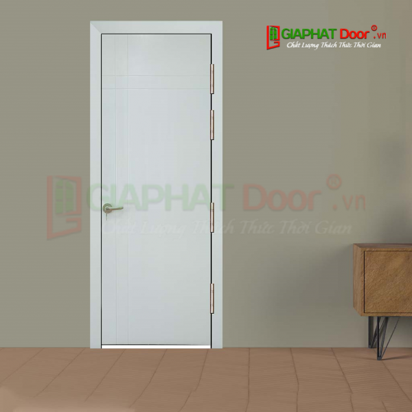 Cửa gỗ cao cấp MDF veneer P1R4 -C1