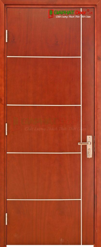 Cửa gỗ công nghiệp MDF Veneer P1R5 xoan dao (3)